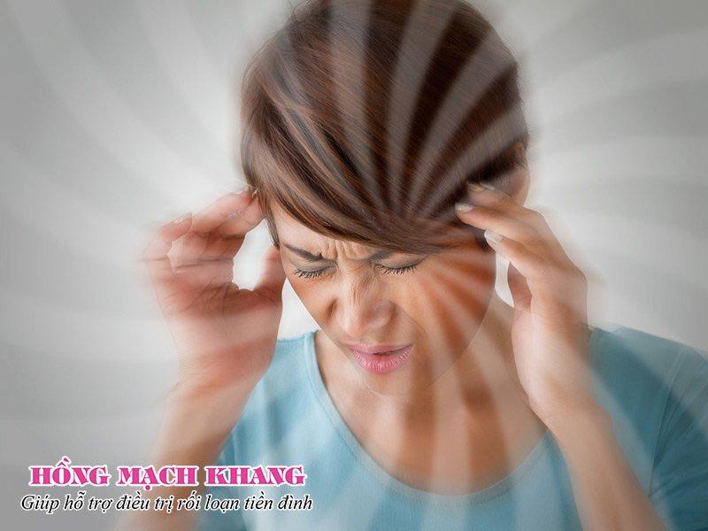 Chóng mặt, choáng váng là dấu hiệu điển hình của rối loạn tiền đình